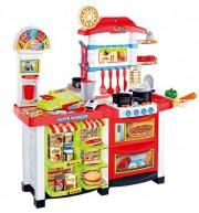 Kuchyňka s hodinami a pracovní deskou