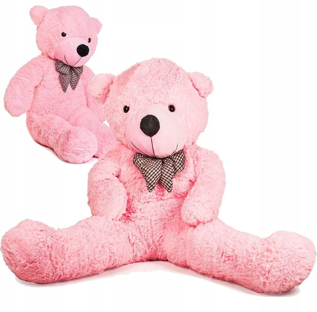 DORIS Velký plyšový medvěd 130 cm - růžový