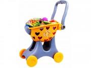 Dětský nákupní vozík s příslušenstvím: srdce