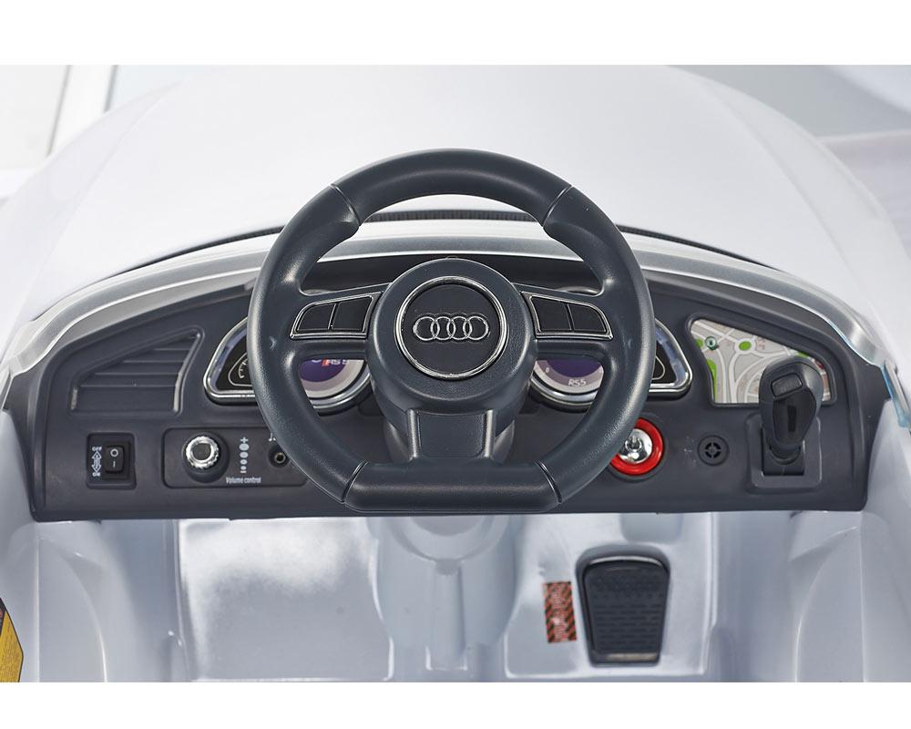 Elektrické autíčko Audi RS5 lakované, čalouněná sedačka