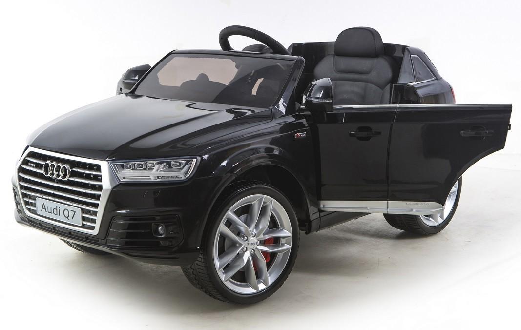 Elektrické autíčko Toyz AUDI Q7 Lak - černé