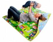 Dětský oboustranný pěnový koberec 180x150x1cm
