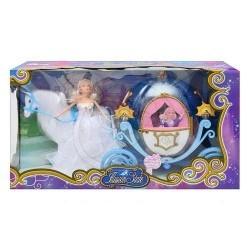 Kočár pro panenky s panenkou Velký