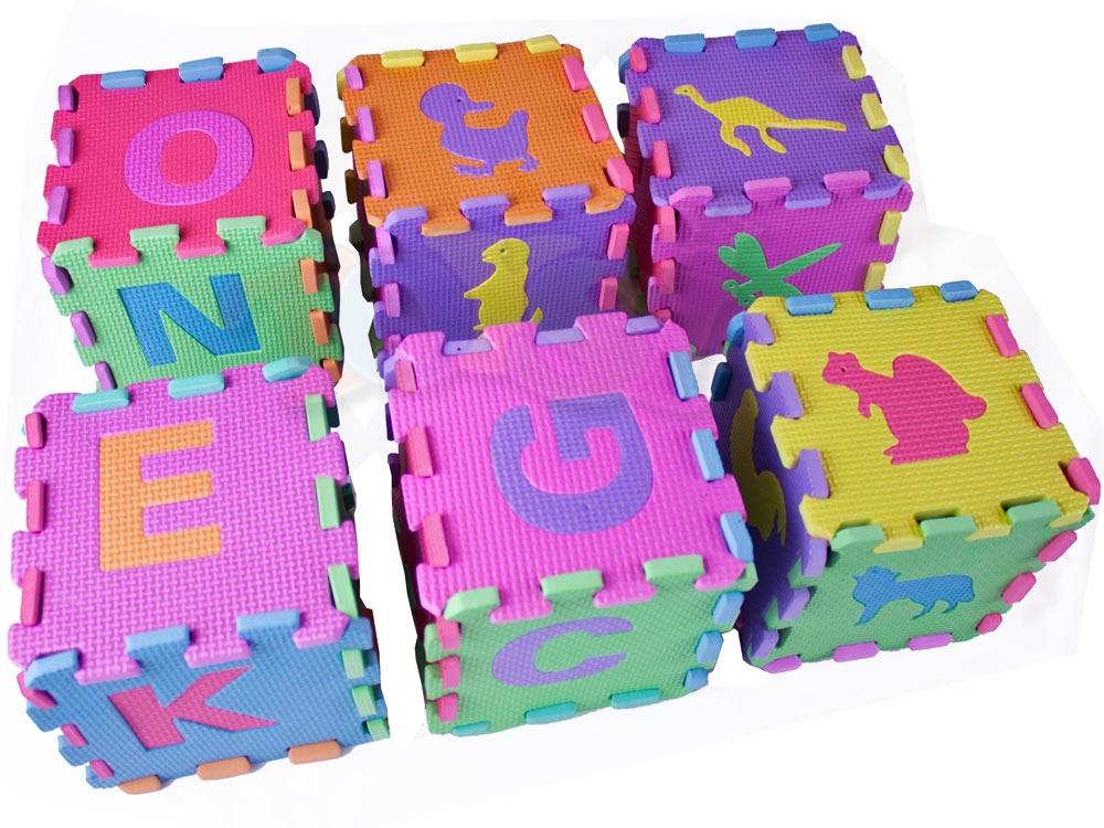 Pěnové puzzle 72 ks