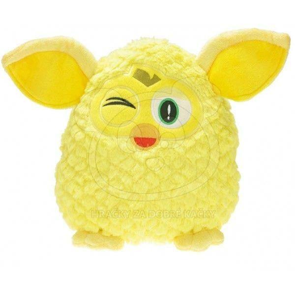 Furby plyšový 29cm - žlutý