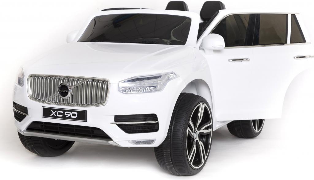 Elektrické autíčko Volvo XC90 - bílé