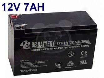 Gelová nabíjecí baterie 12 V - 7 Ah / 20 HR