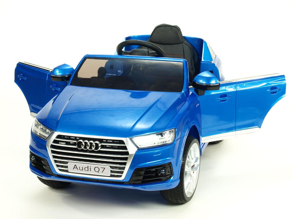 Elektrické autíčko Audi Q7 12V, DO, rádio, EVA kola