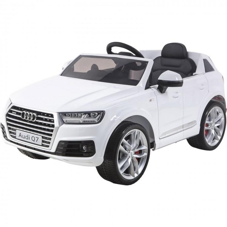 Elektrické autíčko Toyz AUDI Q7 - bílé