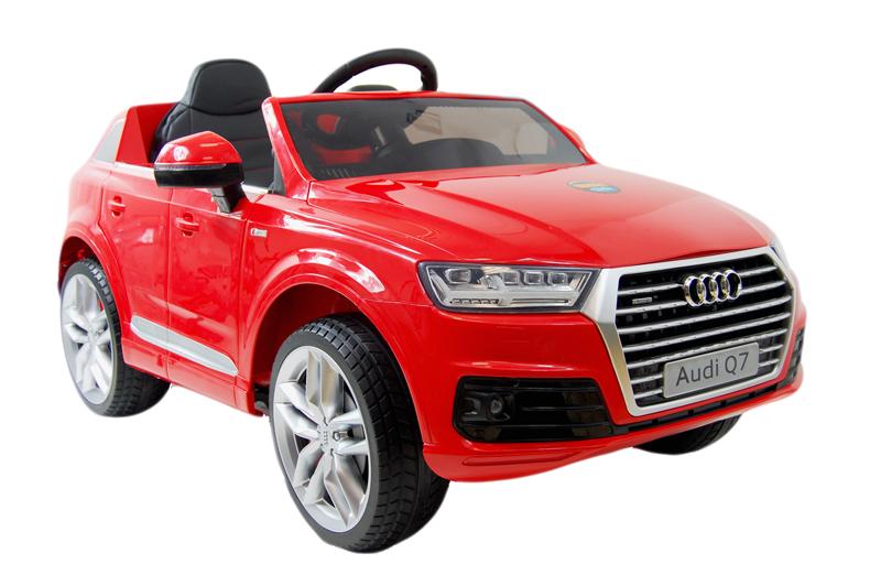 Elektrické autíčko Toyz AUDI Q7 - červené