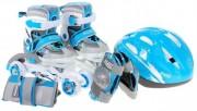 Dětské brusle 4v1 Modré