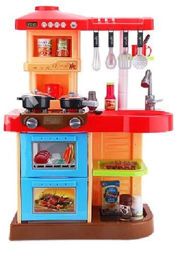 Dětská kuchyňka se zvuky AB17 - červená