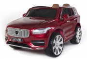 Elektrické autíčko Volvo XC90 2,4 GHz DO klíč dvoumístné, LAK