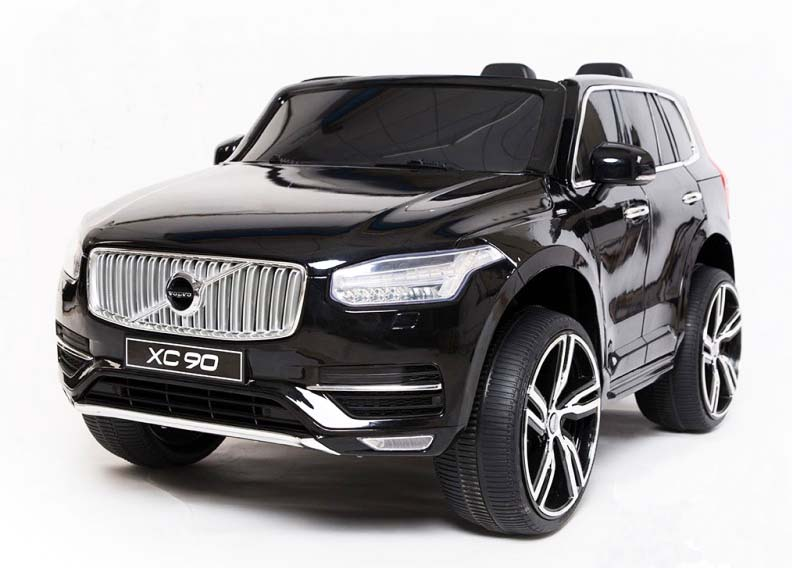 Elektrické autíčko Volvo XC90 2,4 GHz DO klíč dvoumístné, LAK - černé
