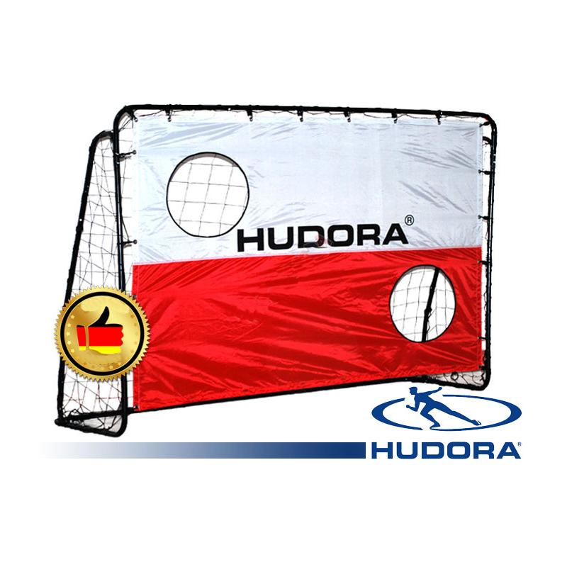 Fotbalová branka Hudora 213x152x76 cm