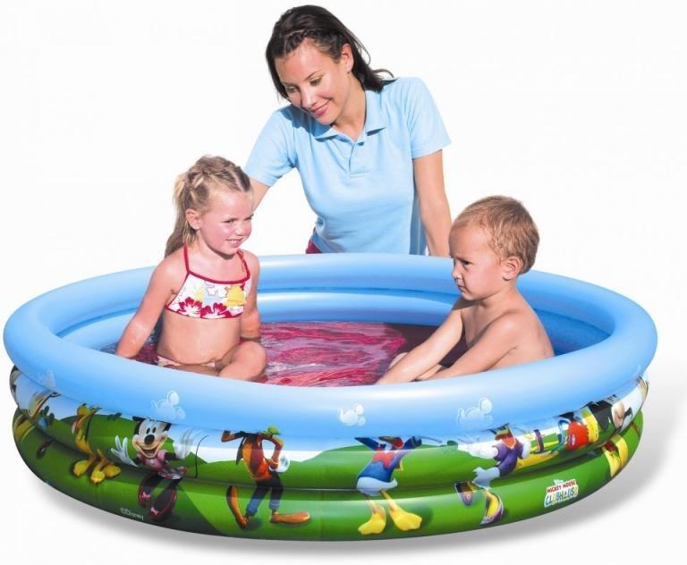 Nafukovací bazén Bestway 91007, Mickey, 122cm