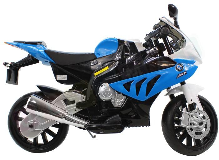 BMW S1000 Dětská elektrická motorka - modrá