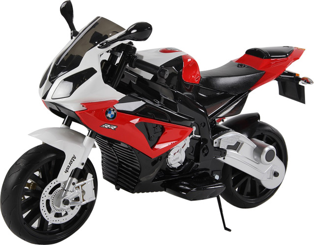 BMW S1000 Dětská elektrická motorka - červená