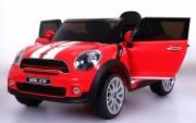 Elektrické autíčko Mini Moris, 2.4GHz, Eva kola, kožená sedačka