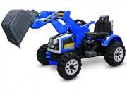Elektrický traktor Kingdom s výkopovou lžící