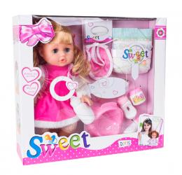 Doris funkční panenka s příslušenstvím 33 cm