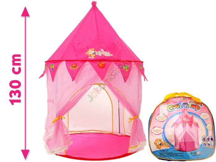 Dětský stan pro princezny