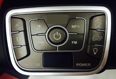 Elektrické auto Bugatti 2,4GHz, vodicí tyč, EVA kola