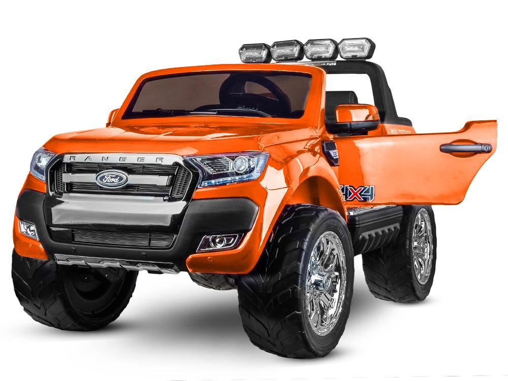 Elektrické autíčko Ford Ranger Wildtrak Luxury 2020 - oranžové