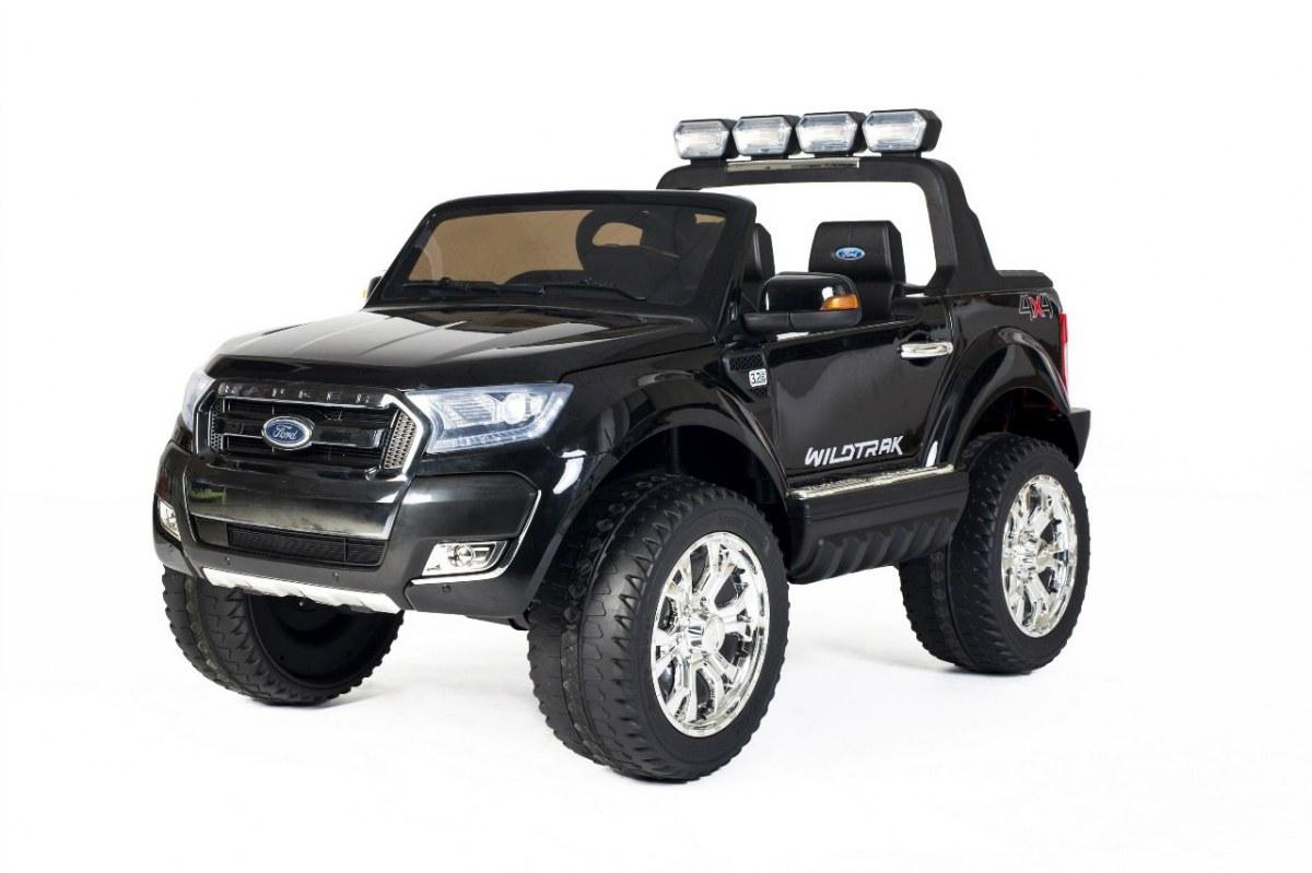 Elektrické autíčko Ford Ranger Wildtrak Luxury 2020, LCD, Lak - černé