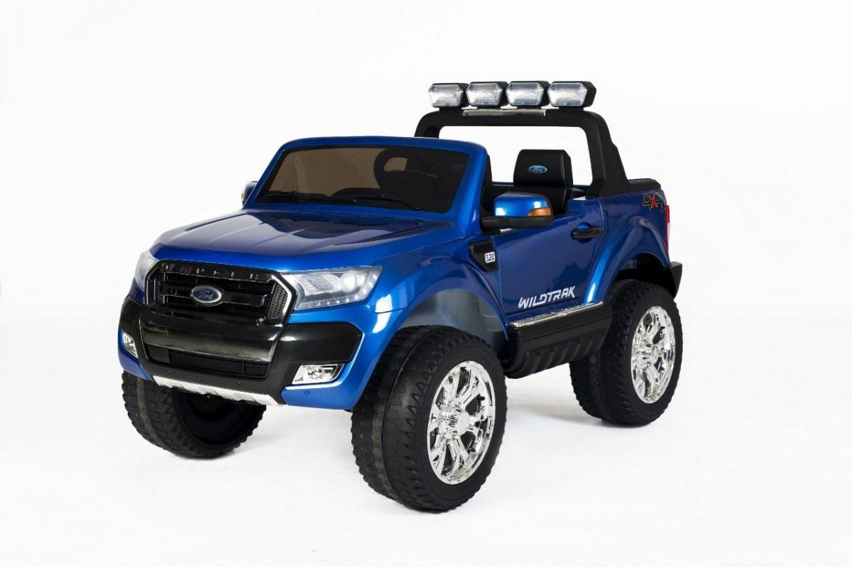 Elektrické autíčko Ford Ranger Wildtrak Luxury 2020, LCD, Lak - modré