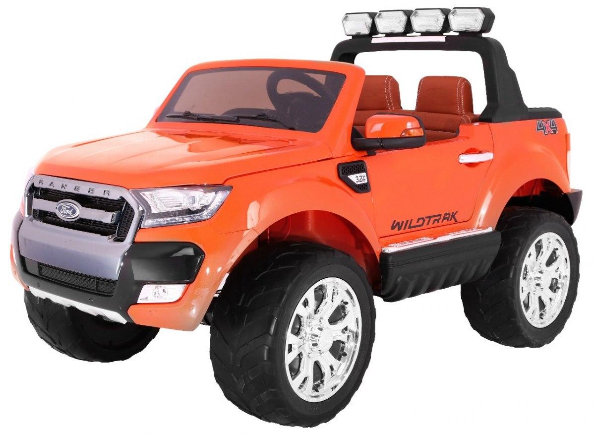 Elektrické autíčko Ford Ranger Wildtrak Luxury 2020, LCD, Lak - oranžové