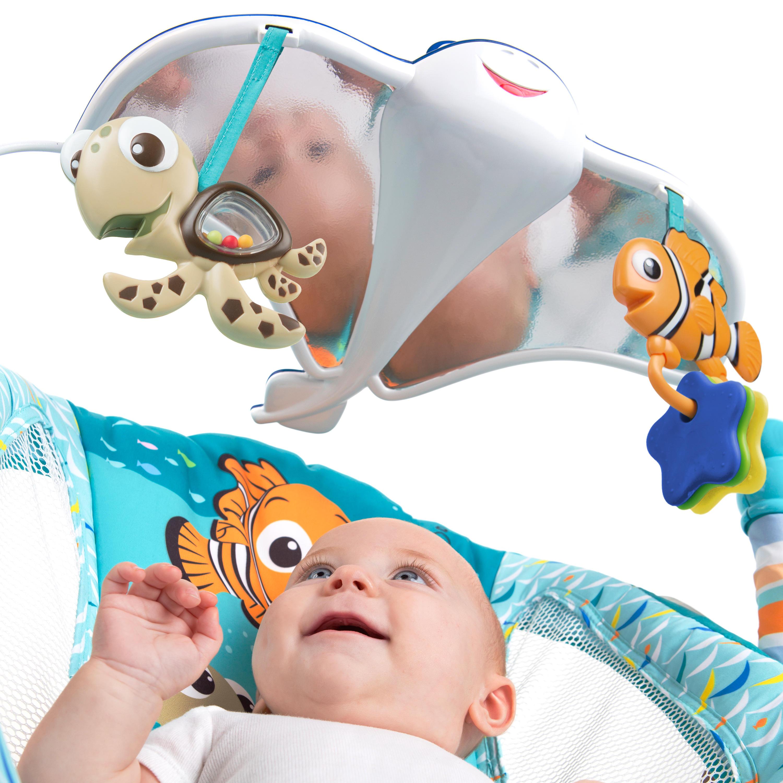 Bright Starts vibrační lehátko Hledá se Nemo