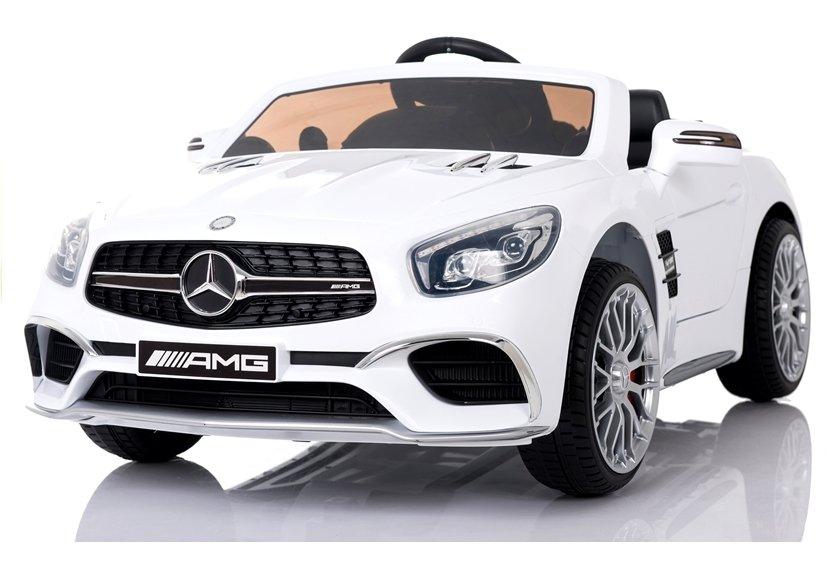 Elektrické autíčko Mercedes-Benz SL65 AMG - bílé