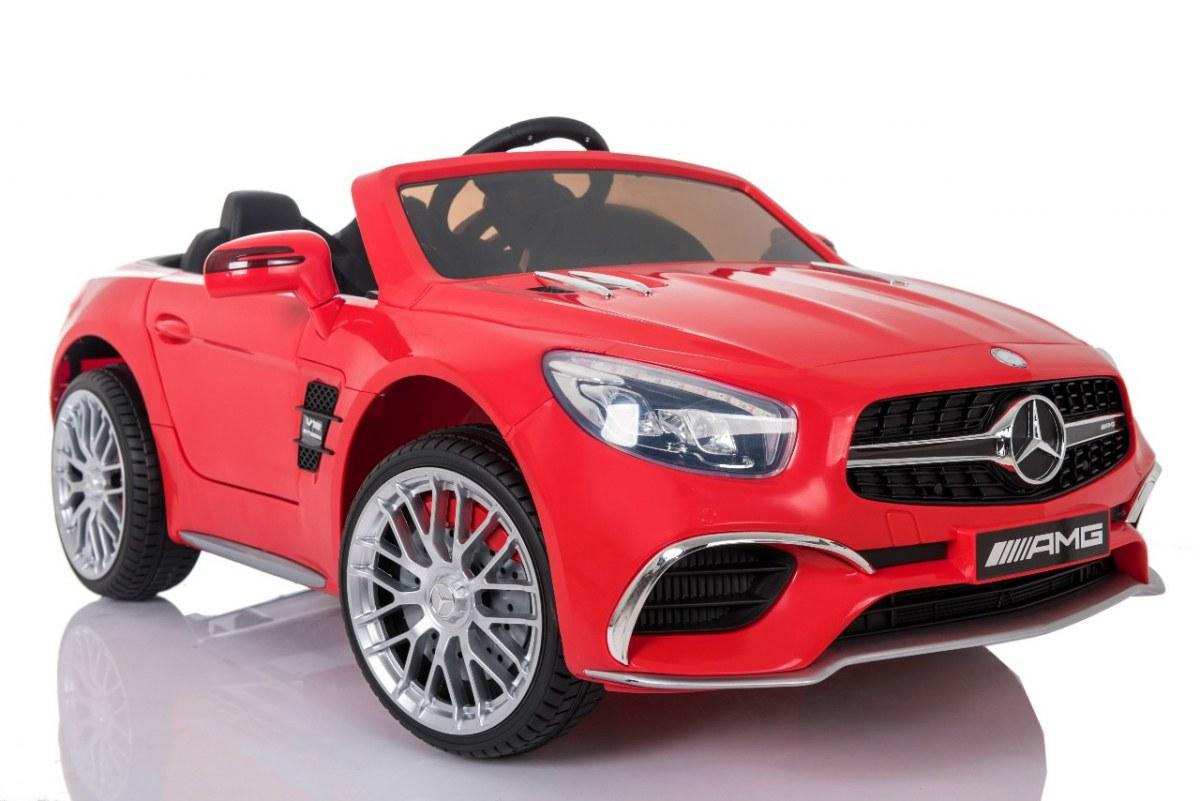 Elektrické autíčko Mercedes-Benz SL65 AMG - červené