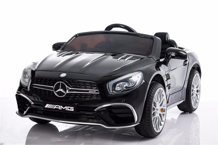 Elektrické autíčko Mercedes-Benz SL65 AMG LAK - černé