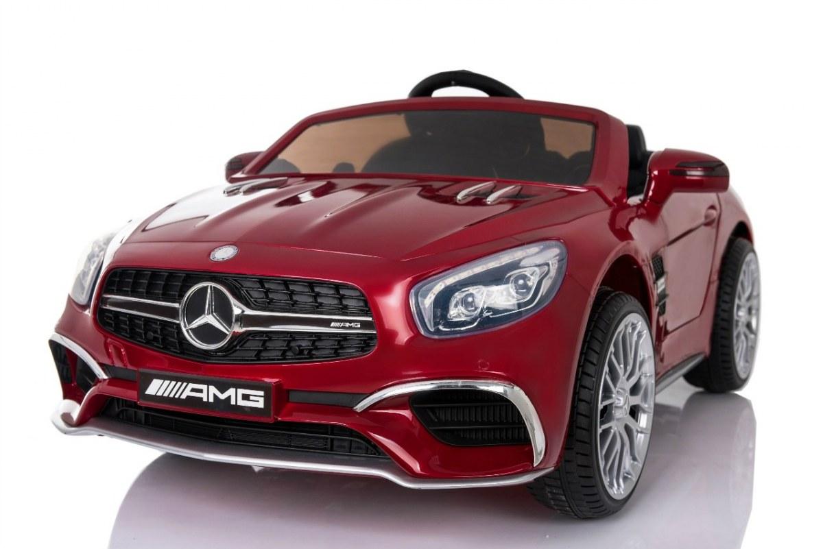 Elektrické autíčko Mercedes-Benz SL65 AMG LAK - červené