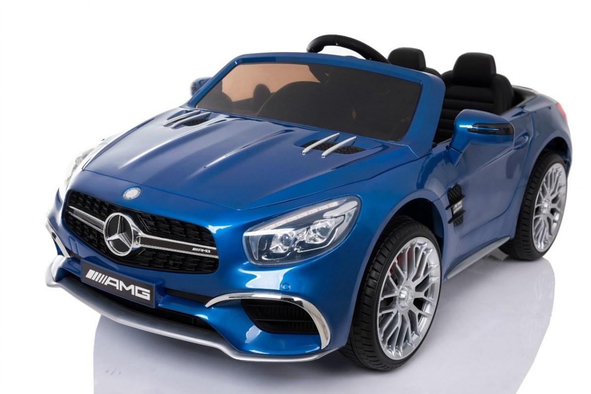 Elektrické autíčko Mercedes-Benz SL65 AMG LAK - modré