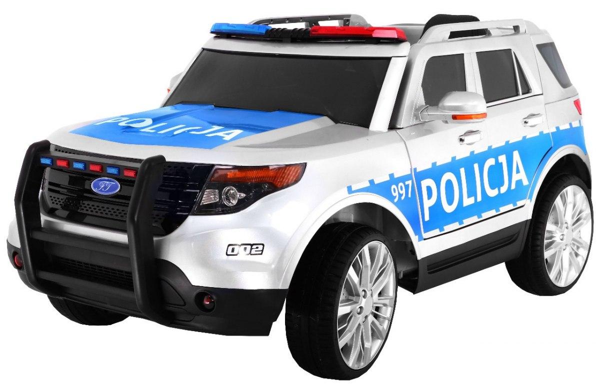 Dětské elektrické autíčko Polská policie, 2.4GHz