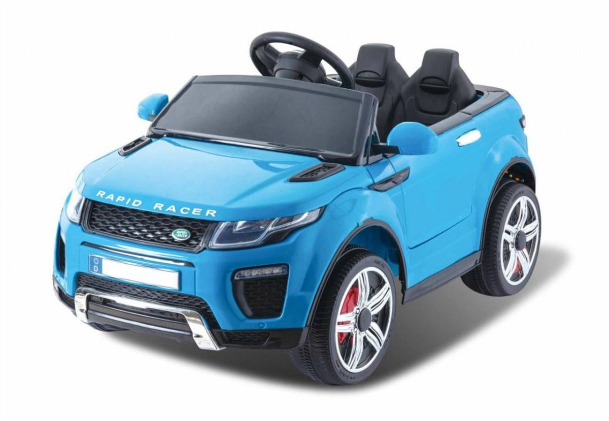 Sportovní elektrické auto Rapid Racer - modré