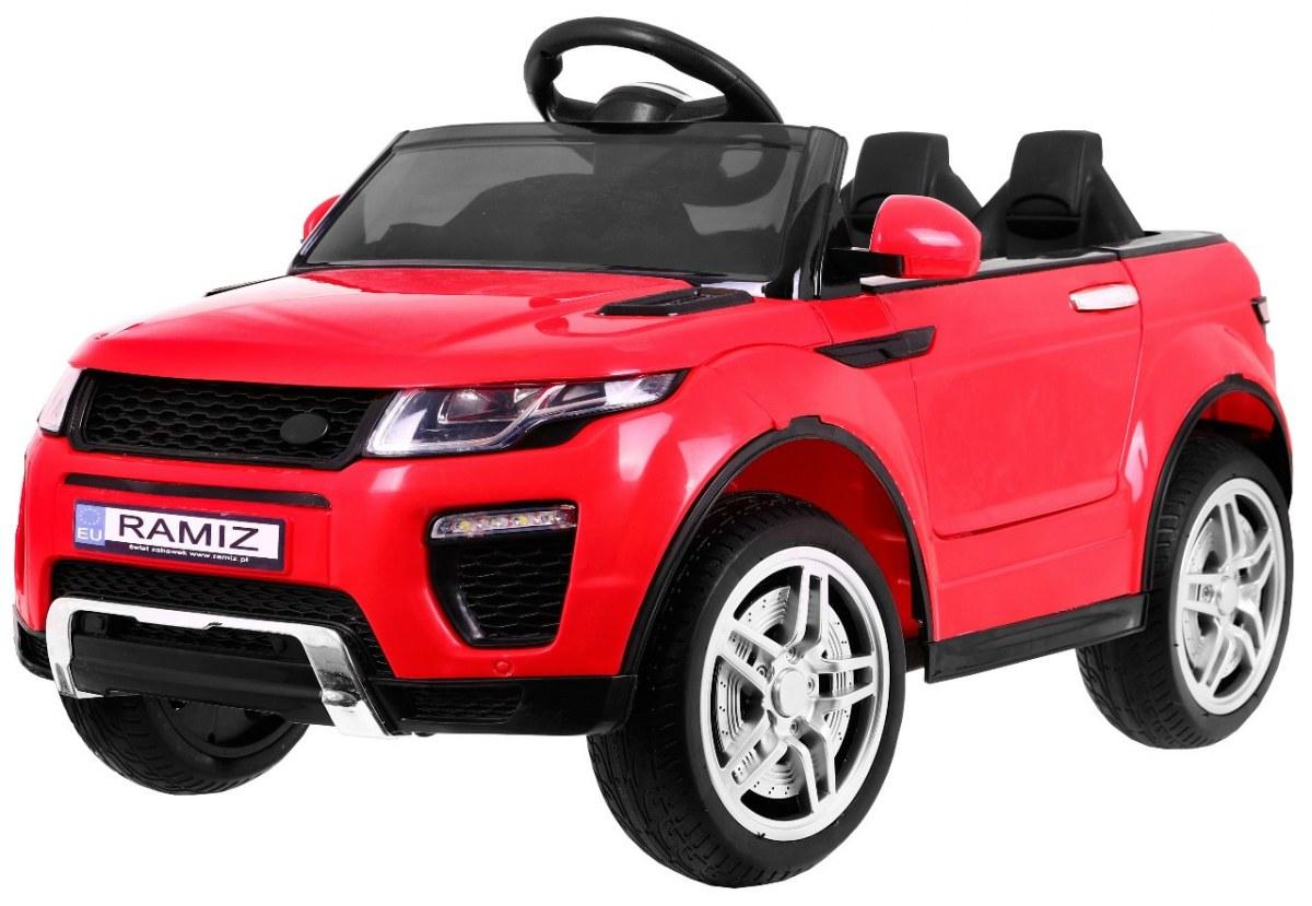 Sportovní elektrické auto Rapid Racer - červené