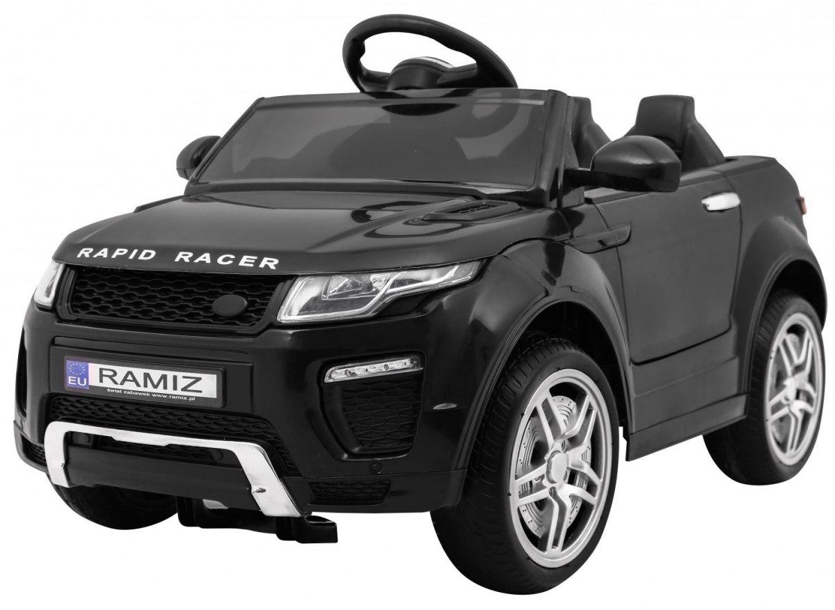 Sportovní elektrické auto Rapid Racer - černé