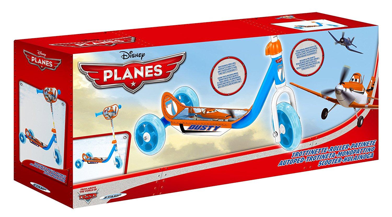 Dětská koloběžka Letadla tříkolová