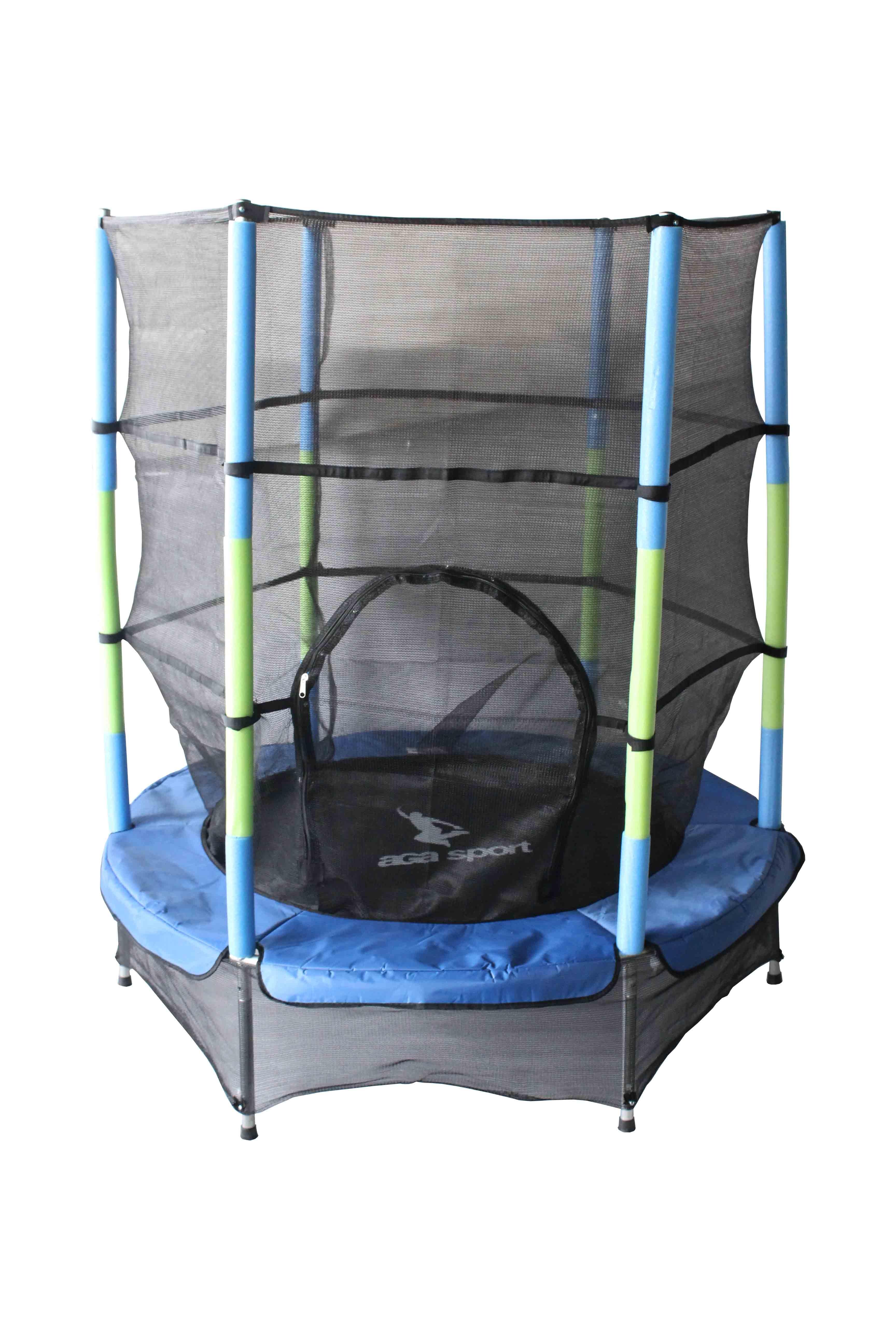 Trampolína Sport Indoor 140 cm - modrá