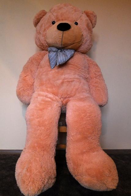 HračkyZaDobréKačky Velký plyšový medvěd 180 cm