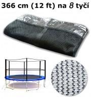 Ochranná síť na trampolínu 366 cm (12 ft) na 8 tyčí