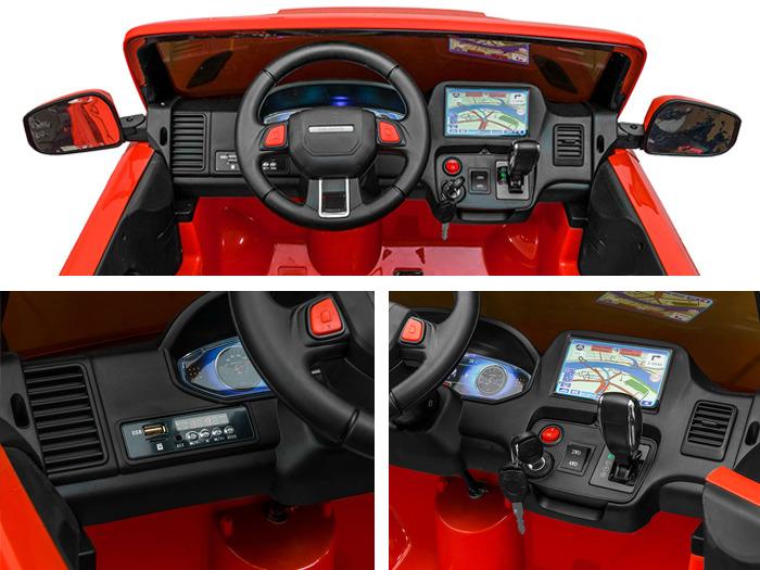 Elektrické autíčko Land 4x4 2.4GHz