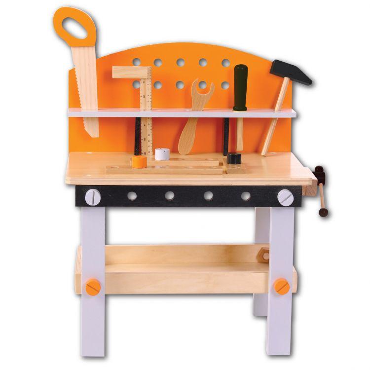 EcoToys pracovní stůl s nářadím
