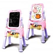 Dětská oboustranná tabule růžová