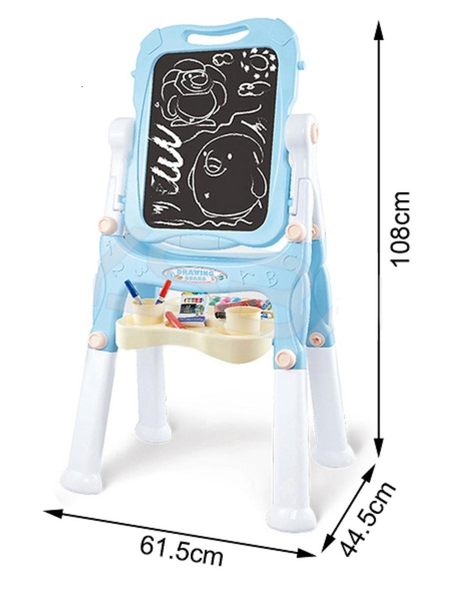 Dětská oboustranná tabule modrá