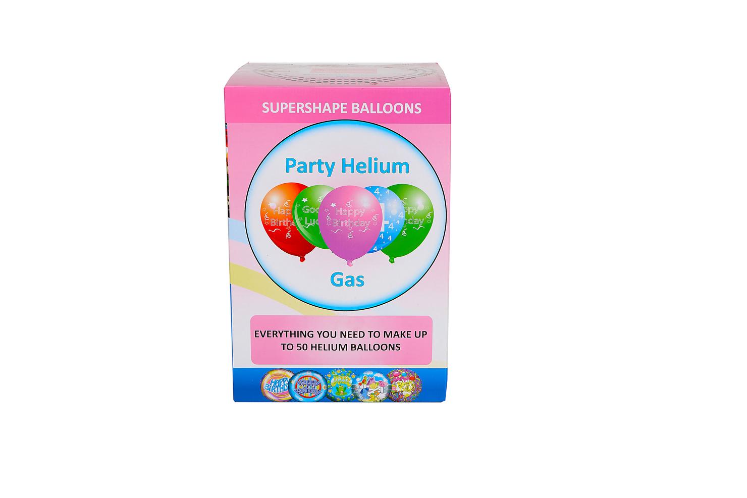 Helium sada narozeninová párty Velká + 50 balónků